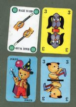 Collectible Vintage Cards game Sooty's Magic